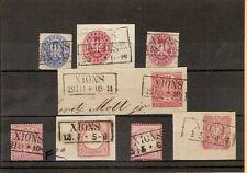 Pr Vor / XIONS idealer Ra2 auf Pr. 16, Briefstück 16, 17a, 2 x Briefstück NDP 4,
