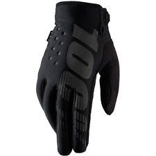 100 Brisker Cold Weather Long Finger MTB Gloves Aw17 L Black