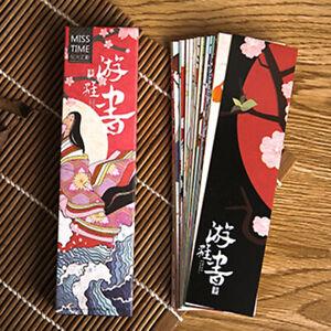 Kawaii Book Page Marker Japanese Style Vintage Bookmark Bookmark Paper Marks