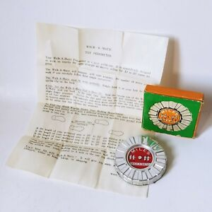 Vintage Chadwick Miller Walk A Matic Walk-A-Matic Toy Pedometer Boxed Japan