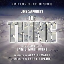 JOHN CARPENTER'S THE THING - Music from the Motion Picture by Ennio Morricone