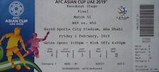 TICKET Finale AFC Asian Cup 2019 Qatar Katar - Japan Match 51