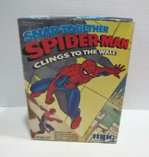 MPC 1978 AMAZING SPIDER-MAN MODEL KIT UNBUILT IN BOX CLINS TO THE WALL! MARVEL