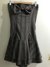 Girls/women's strapless summer boob tube dress/top size 8