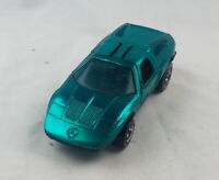 Restored Hot Wheels Redline - 1972 - Mercedes Benz C111 - Aqua