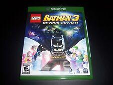 Replacement Case (NO GAME) LEGO BATMAN 3 BEYOND GOTHAM XBOX ONE 1 100% Original