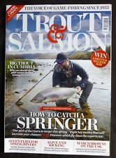 Trout And Salmon, March 2016, Exploring the extraordinary Lakeland of N. Sweden