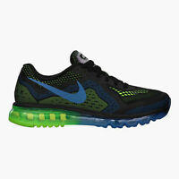 NIB Men's Authentic Nike AIR MAX 2014 BLACK Sneakers Shoes  621077 005