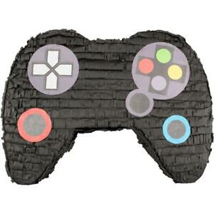 Video Game Controller Party Pinata, Black, 21in x 16in