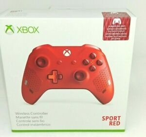 NEW Microsoft XBOX ONE Wireless Controller- Sport RED Special Edition-sealed