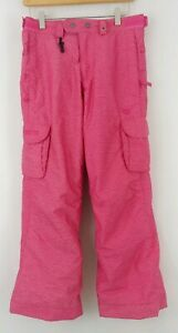 686 Smarty L Snow Board Pants Youth Girls Pink Free Ship Ski Winter