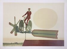 "Claus Hoie, ""Whirligig"", Ltd. Ed. Serigraph, hand signed"
