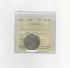 **1905**, ICCS Graded Canadian,  25 Cent, **EF-40**
