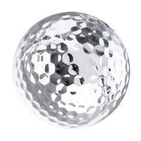 2pcs Professional Practice Golf Balls for Golfer Training Game Ball
