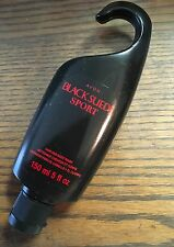 AVON Black Suede Sport cologne shower Hair & Body Wash 5 fl oz. 150ml New