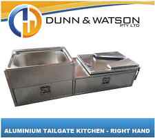 Aluminium Camper Trailer Kitchen Tailgate Mounting Right Hand Swing