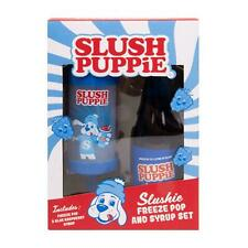 Slushie Freeze Pop & Syrup Set - Make Your Own Slush Puppy Ice Lollies Official