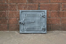 28.3 cm x 24.1 cm cast iron fire door clay/bread oven door/pizza smoke house
