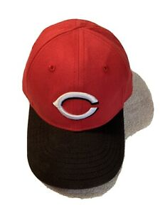 CINCINNATI REDS NEW ERA OFFICIAL MLB YOUTH CAP AUTO ADJUST SYSTEM EMBROIDERED