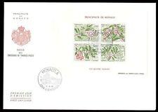Monaco 1986 Seasons Of The Strawberry M/S FDC #C8243