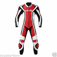 2018 SYLISH MOTORBIKE LEATHER SUIT MOTORCYCLE RACING MEN LEATHER JACKET PANT