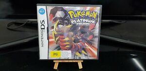 Pokemon Platinum Version (Nintendo DS, 2009) CIB