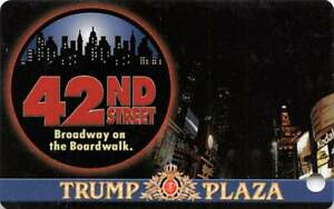 Trump Plaza Casino - Atlantic City, NJ - Slot Card