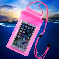 3 Layer Sealing Waterproof Swim Bag Phone Pouch Case Cover for iPhone Samsung