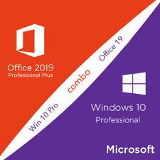 Microsoft Office 2019 & Microsoft Windows 10 Professional
