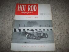 JUNE 1950 HOT ROD MAGAZINE- EL MONTE DIRT TRACK ROADSTERS RACE