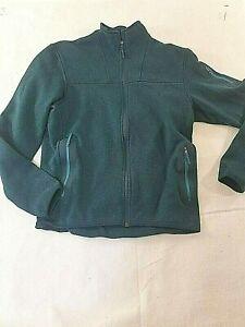 Arc'teryx Mens Jacket Size Large Fleece Full Zip Green CA34438 Pockets Outdoors