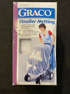 NEW Graco Stroller Netting ~ Standard Size ~ Cover ~ Insects. Free Shipping!