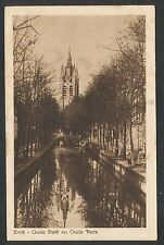 Delft  Oude Delft en Oude Kerk