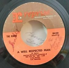 Kinks Reprise 0420 A WELL RESPECTED MAN (GREAT R&R 45) PLAYS VG++