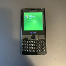 Samsung Epix SGH-I907- Black AT&T Keyboard Windows Smartphone No Charger