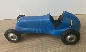 L.M. Cox Vintage Thimble Drome Special Tether Car Blue No Motor