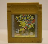 Pokemon Gold Version (Nintendo Game Boy Color) Authentic Dead Battery Gameboy