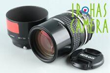 Nikon Nikkor 135mm F/2.8 Ai Lens #26572 F4