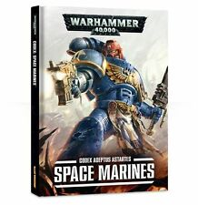 CODEX SPACE MARINES - Games Workshop - Warhammer 40.000 - NUOVO 40K