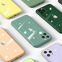 GLAS HÜLLE Handy Schutz Schutzhülle für Apple iPhone X XS XR 11 12 Pro Max Mini