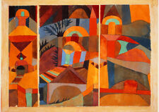 Paul Klee: Temple Gardens. Fine Art Print/Poster