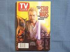 TV GUIDE STAR WARS PHANTOM MENACE MAY 15 1999 #3 OBI-WAN KENOBI NATALIE PORTMAN