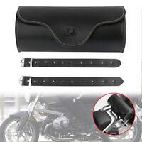 Sacoche Sac Outils Moto Trousse Côté PU Cuir Pour Harley Divadson Sporter Moto