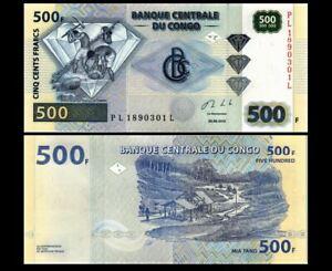 CONGO 500 FRANCS 2013 YEAR  P 96 UNC