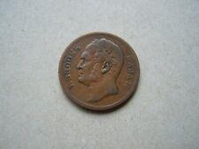 1863 Sarawak 1 Cent (Rare) J. Brooke Rajah