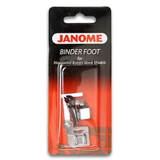 Janome Binder Foot - for Attaching Bias Binding to Fabric, Snap On,