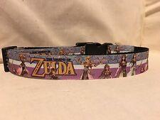 """Zelda #2 Inspired Ribbon Dog Collar, 1""""Adjustable Ribbon Dog collar"""