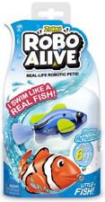ZURU ROBO ALIVE ROBOTIC PETS - 37437 SEA FISH TURTLE SWIM DIVE WATER ACTIVATED