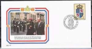Envelop Royalty OSE-117 - 1990 Beatrix en Claus bezoeken Luxemburg 100 jaar