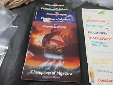 Dungeons & Dragons Champions of Mystara Heroes of the Princess Ark Box Set + #2